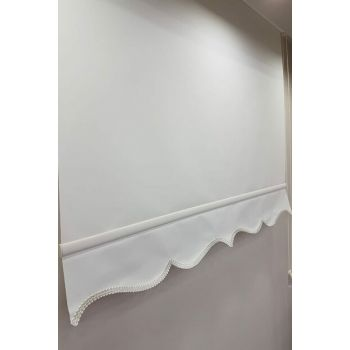140X200 Plain Ecru Roller Blinds MS1202 8605481032642