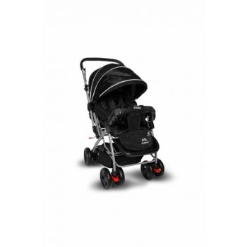 Aldeba 8028 Two Way Baby Carriage - Black / 3764