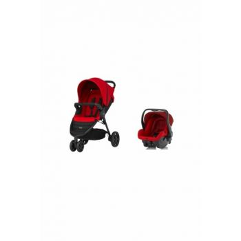 Britax-Römer B-Agile 3 Stroller - Flame Red + Primo Motherboard 40009841408801