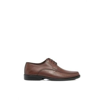 Brown leather men's shoes546H57 E18S1AY546