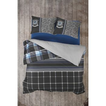 Masculine Ranforce Double Duvet Cover Roberto 8680108044254