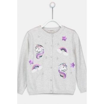 Girls' Cardigan 9W1853Z4