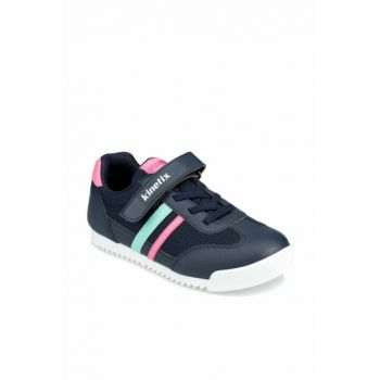 Navy Blue Girls Sneaker Shoes