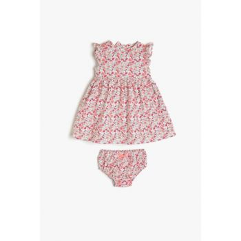Pink Baby Girl Dress 9YMG89307OW