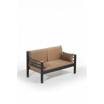 Kappis Dk Sofa Cedar Double Sofa Black-Brown KppsDk2SK