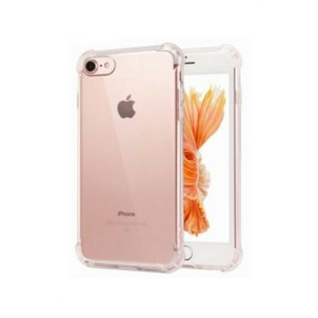 Rich Shop Apple iPhone 7 - 8 Ultra Thin Transparent Airbag Anti Shock Silicone Case - Transparent