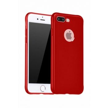 Rich Shop For Iphone 7 Plus Soft Silicone Case I7PLUS-RED