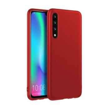 Rich Shop For Samsung Galaxy A50 Soft Silicone Case A50 - RED
