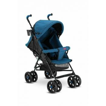 Sienna Walking Stick Baby Stroller Full Tilt - Blue (Suitable for Newborns) 1764848