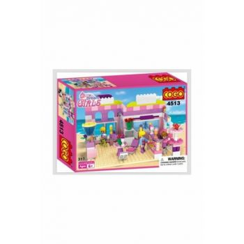 Cogo Princess Set Princesses 317 Piece Making Toy In Restaurant PRA-125785-4378