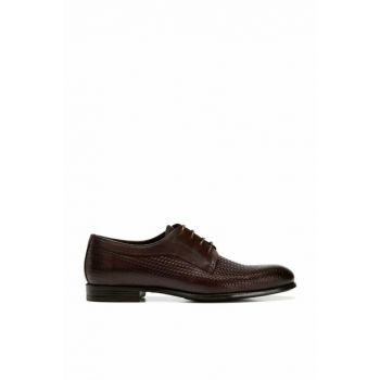 Genuine Leather Brown Men Shoes 02AYH138560A480