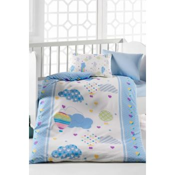 Baby Duvet Cover Set 100% Cotton | Baloon 152-11-20000149