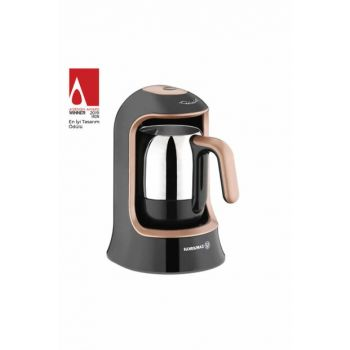 A860-02 Korkmaz Kahvekolik Rosagold Automatic Coffee Machine