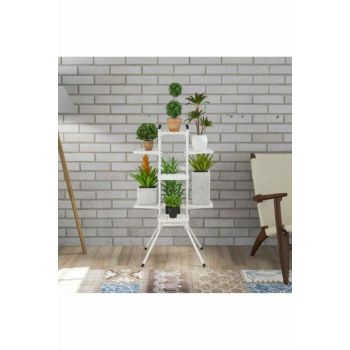 Cagla 10 Lu Flower Garden Plant Potted Stand ARD5022