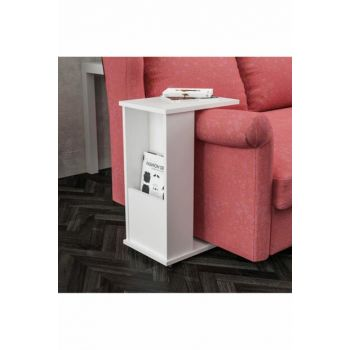 C Side Table With Newsstand With Wheel Ard318