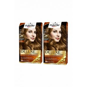 Deluxe Intense Colors 9-50 Gold Shimmering Balx 2 Pack SET.HNKL.269