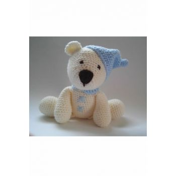 Sleeping Companion Knit Toy Blue / DML110008O