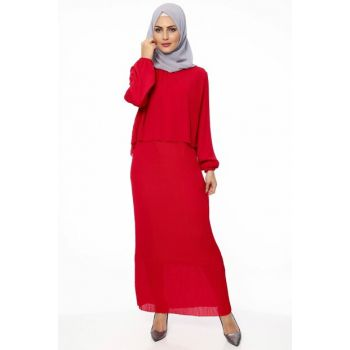 Women's Red Dress