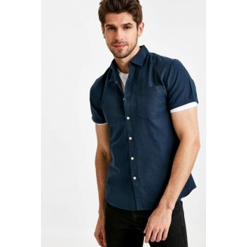 Men's Indigo Shirt 9SH252Z8