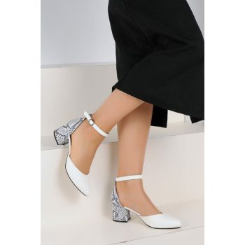 White Snake Women's Heels Shoes A55-19