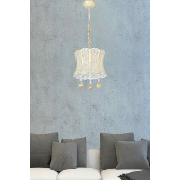Milano Single Patine Chandelier 901 0003 39 039