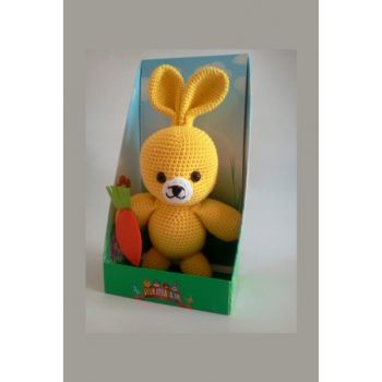 My Friend Yellow Rabbit Knitting Toy Yellow / DML111006O