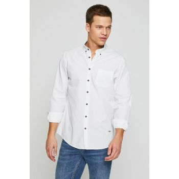 Men's White Shirt 8YAM62061LW