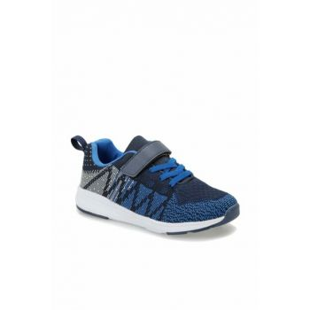 Black Blue Boy Walking Shoes 000000000100379445