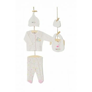 Pink Baby Girl Hospital Outlet Layette Set AZZ005221