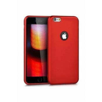 Rich Shop For Iphone 6 - 6S Soft Silicone Case 6S-RED