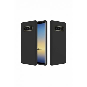Rich Shop For Samsung Note 8 Soft Silicone Case NOTE8 - BLACK