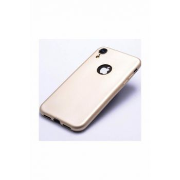 Rich Shop For Iphone XR Soft Silicone Case XR-GOLD