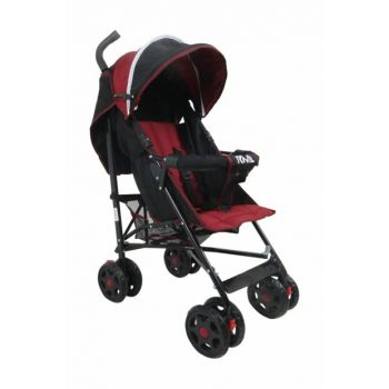 Junior Walking Stick Baby Stroller Burgundy Black RV101