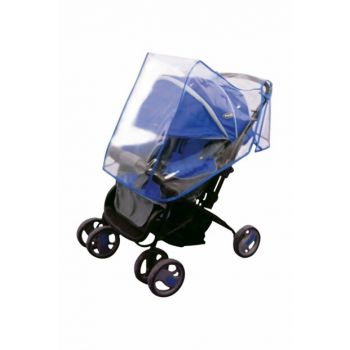 Baby Stroller Raincoat KPBAO55912Blue