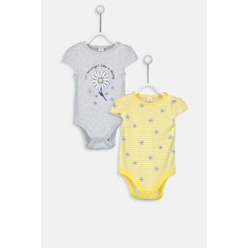 Baby Girls Cotton Snappy Body 2sets 9SL932Z1