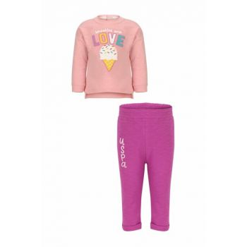 Pink Baby Girl Knitted Suit G086SZ0BT.000.778651