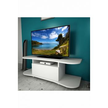 Butterfly White 120 Cm Tv Stand BENA007B