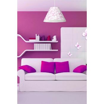 Tria Pendant Lamp - Pink Butterfly ASZ.0933