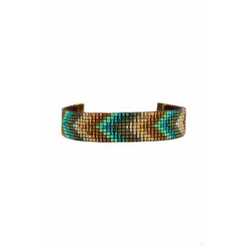Beadwork Patterned Bracelet MA2238