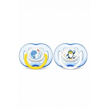 0% BPA False Pacifier 18 Months + 2pcs / Scf186-24 8710103771722