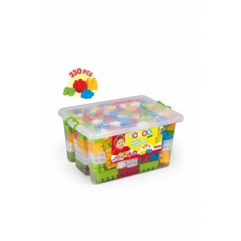 Large Colored Blocks in Full Chest 230 Pieces 5093 / MA.5093