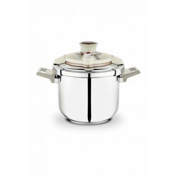 Tempo Pressure Cooker - 6,5 Liters - Cream - Gold 1S713-27001-KRM01