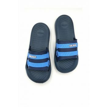 Blue Men's Slippers gzr11348m