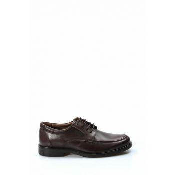 Genuine Leather Brown Men Classic Shoes 1849864