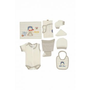 Baby Boy Hospital Outlet 10s Layer Set Gray T588 BBBKT588grey