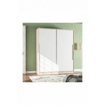 Ae-4001 Lily Wardrobe Bedroom Wardrobe With Sliding Door With 2 Drawers grdrp3
