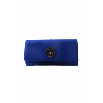 Blue Women's Portfolio / Clutch Bag 6233-S.MV-2