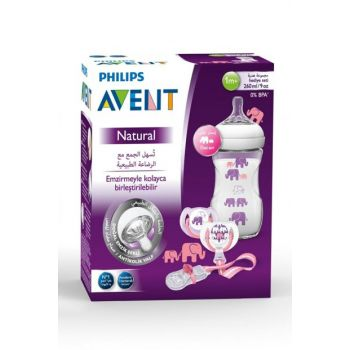 Gift Set with Elephant Pattern / Scd628-01 8710103791027