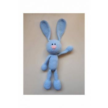 Playmate Rabbit Knitting Toy Blue / DML110002O