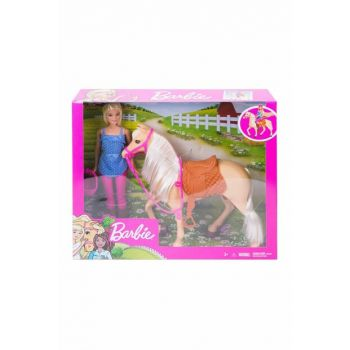 Barbie And Beautiful Horse Play Set U302760